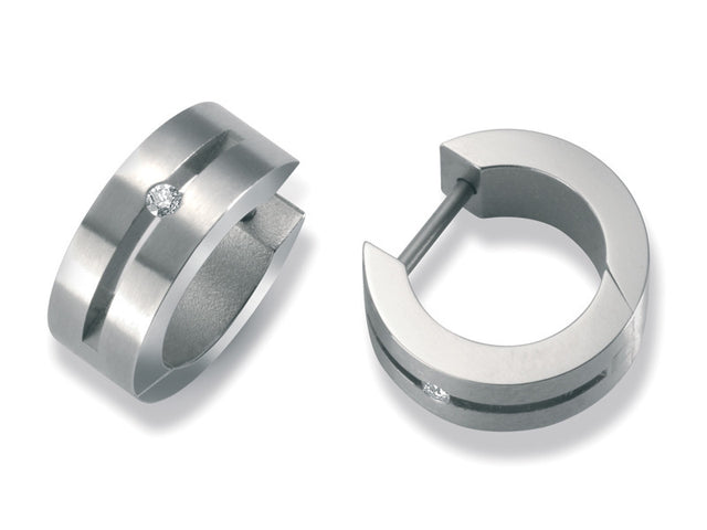 24335-01 TeNo Titanium Earrings