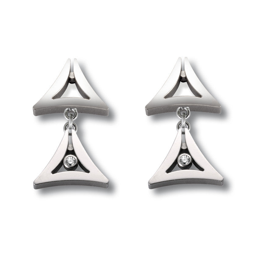 24399-02 TeNo Titanium Earrings