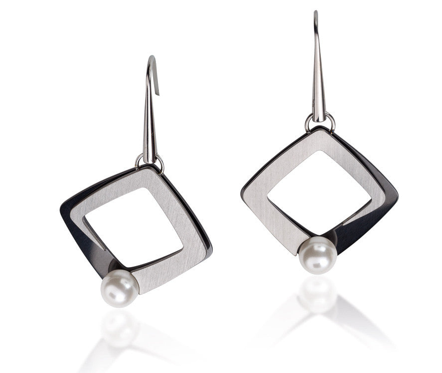 27026-01 TeNo Titanium Earrings