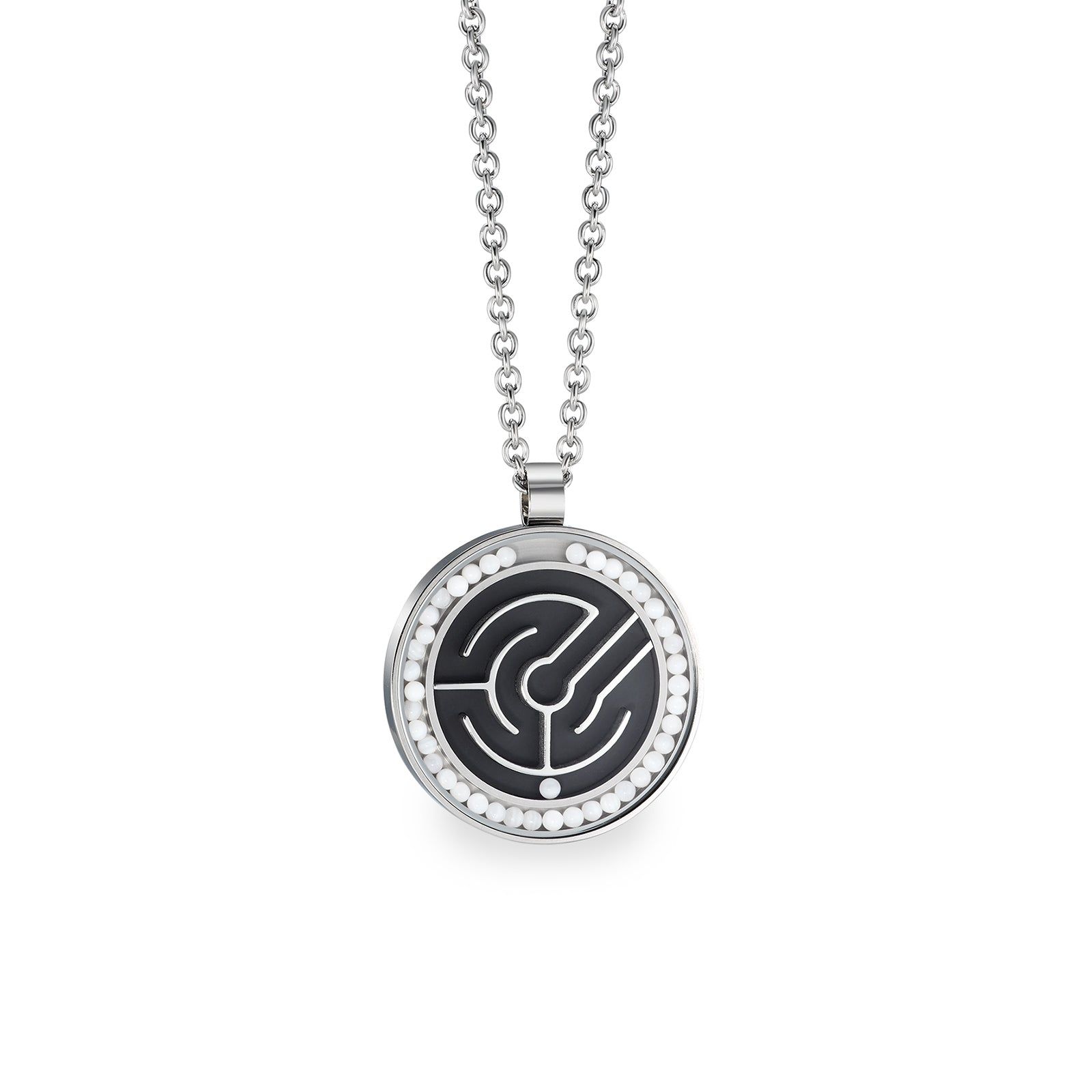 79067-01 TeNo Stainless Steel Pendant Necklace