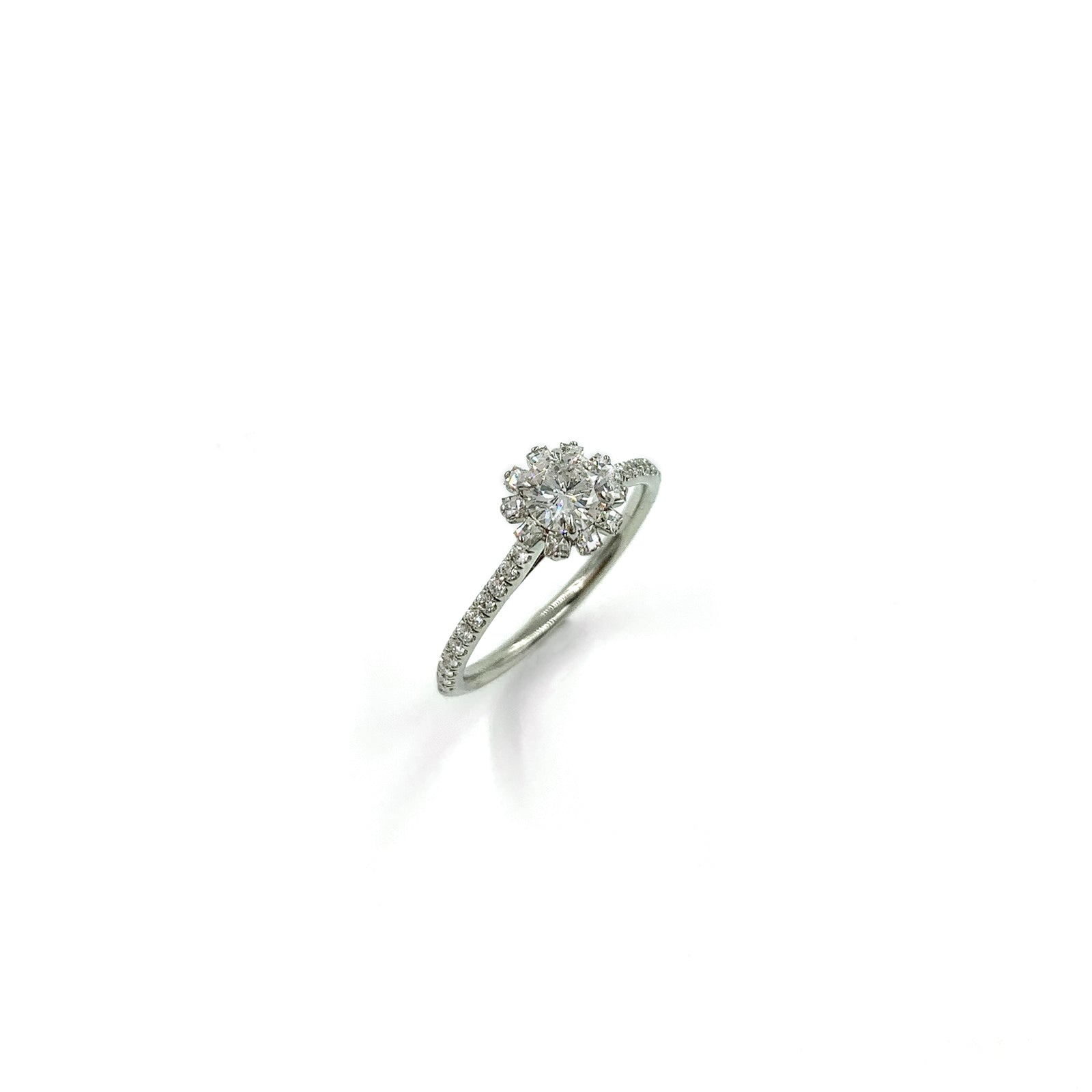 Fine Jewelry Collection: White Gold Diamond Ring