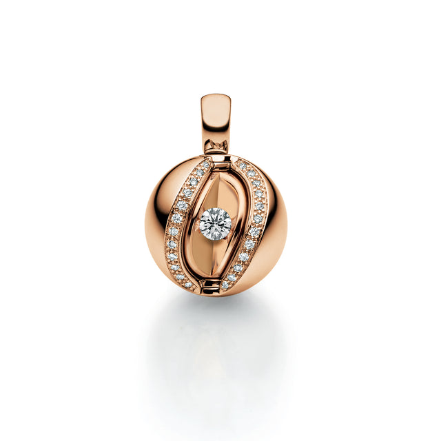 Fine Jewelry Collection: Mystery Pendant in Rose Gold