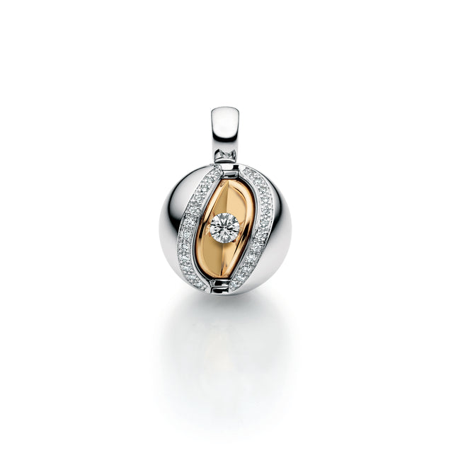 Fine Jewelry Collection: Mystery Pendant in White Gold