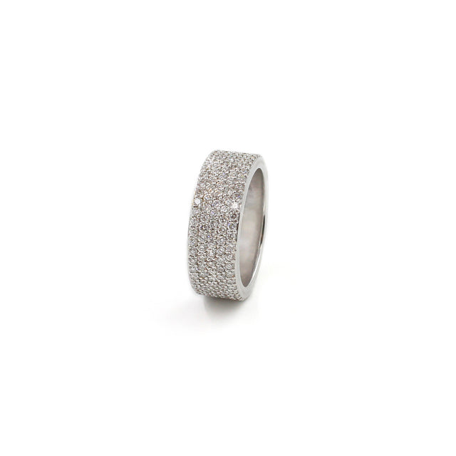 Fine Jewelry Collection: 5-Row Pavé Diamond Ring