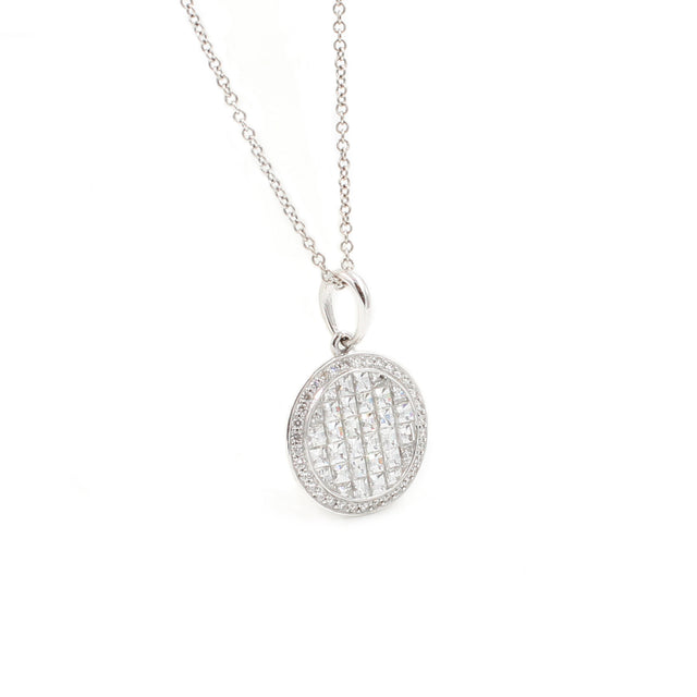 Fine Jewelry Collection: Blaze Diamond Pendant Necklace