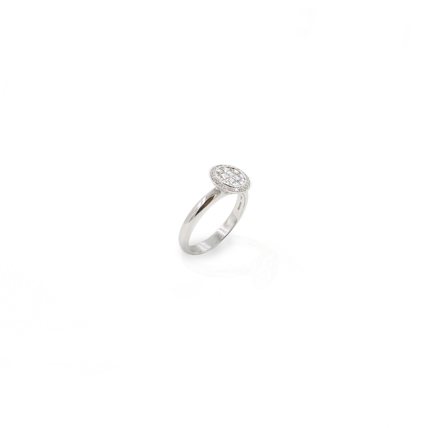 Fine Jewelry Collection: White Gold Blaze Diamond Ring