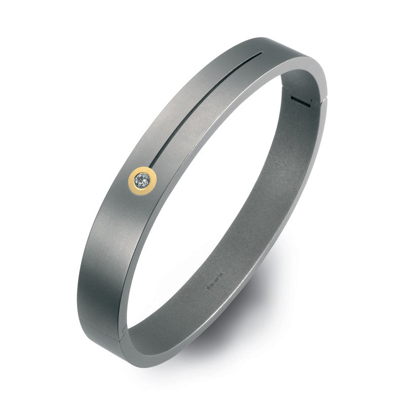 60200-01 Teno Titanium Bangle