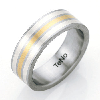 060.0300.d33 TeNo Stainless Steel Ring