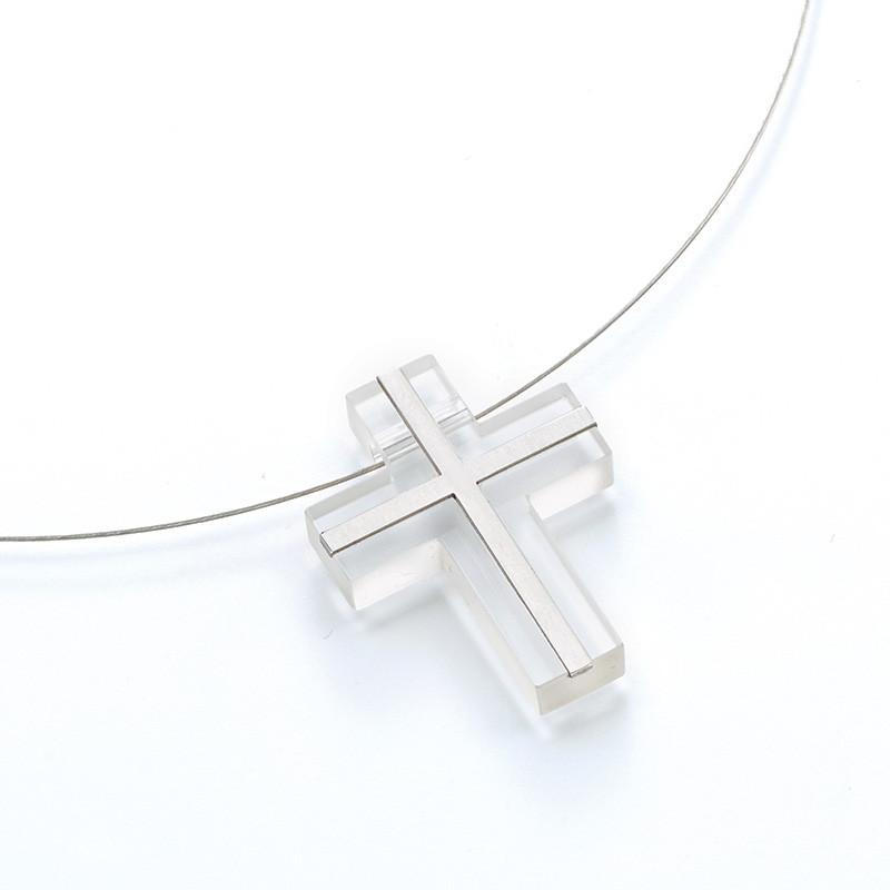 911686R Bunz Cross Pendant