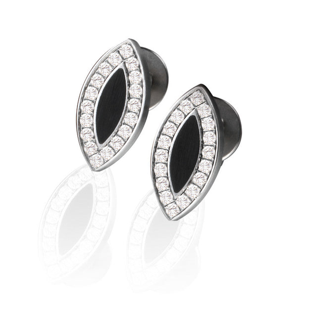 034.12P01.D26 TeNo Steel Earrings