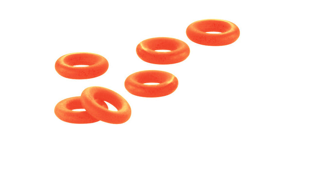 Orange Rubber Stoppers for TeNo YuKoN