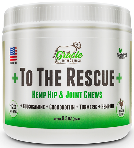 Hemp Hip & Joint Chew - 120 Soft Chews