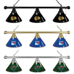 National Hockey League 3 Shade NHL Billiard Lights