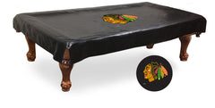 Chicago Blackhawks Pool Table Cover