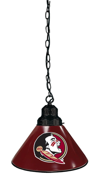 Florida State Seminole Head Billiard Table Pendant Light