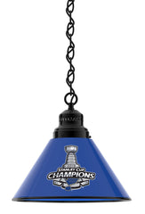 St. Louis Blues Stanley Cup Billiard Table Pendant Light