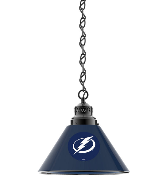 Tampa Bay Lightning Billiard Table Pendant Light