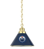 Edmonton Oilers Billiard Table Pendant Light