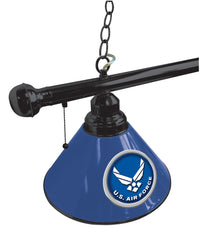 United States Air Force Snooker Table Light Close Up