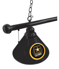 United States Army Billiard Table Lamp Close Up