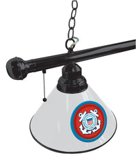United States Coast Guard Pool Table Light Close Up