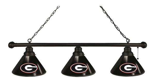 Georgia G Block 3 Shade Billiard Light