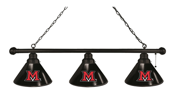 Miami of Ohio 3 Shade Billiard Light