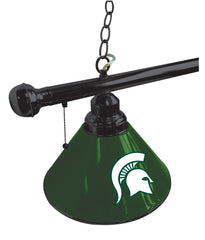 Michigan State University Snooker Table Lamp Close Up