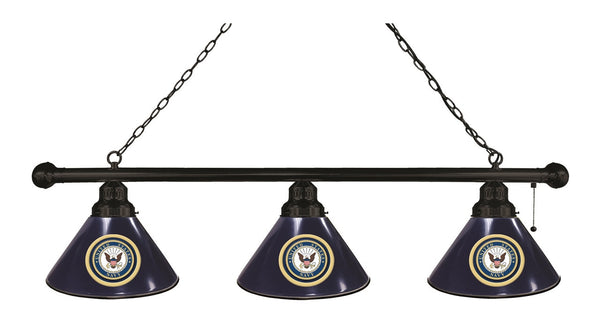 US Navy 3 Shade Billiard Light