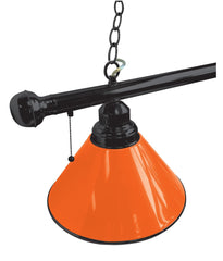 Orange Non-Logo Plain Billiard Table Lamp Close Up