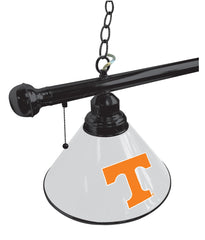 University of Tennessee Billiard Table Light Close Up
