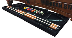 The Ultimate Drawer Open from Side view on Pool Table