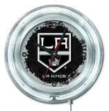 "15"" LA Kings Neon Clock"