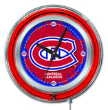 "15"" Montreal Canadians Neon Clock"