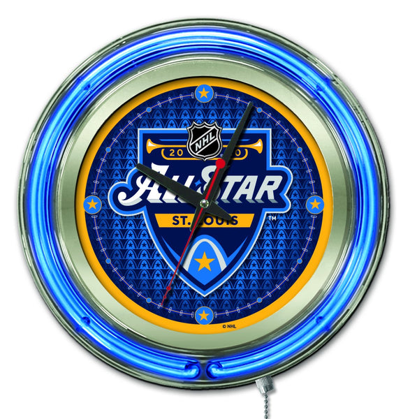 "15"" All Star Game Neon Clock"