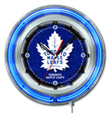 "19"" Toronto Maple Leafs Neon Clock"
