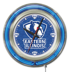"15"" Eastern Illinois Panthers Neon Clock"