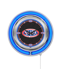 "15"" NHRA Drag Racing Neon Clock"