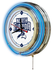 "15"" North Florida Ospreys Neon Clock"