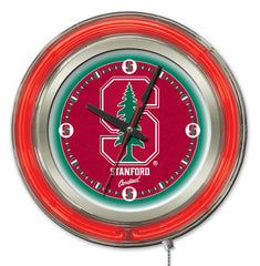 "Stanford Cardinals 15"" Neon Clock"