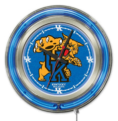 "University of Kentucky Wildcats 15"" Neon Clock"