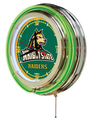 "15"" Wright State Raiders Neon Clock"