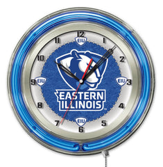 "19"" Eastern Illinois Panthers Neon Clock"