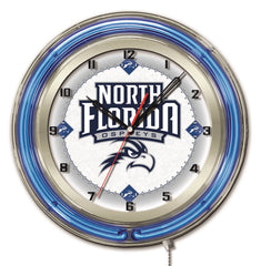 "19"" North Florida Osprey Neon Clock"