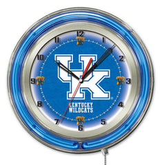 "19"" University of Kentucky Wildcats UK Scripts Neon Clock"