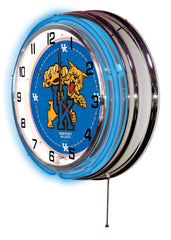 "19"" University of Kentucky Wildcats Neon Clock"