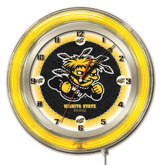 "19"" Wichita State Shockers Neon Clock"