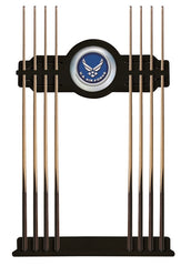 United States Air Force Cue Rack with Black Finish
