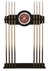 United States Marine Corps Cue Rack with Black Finish