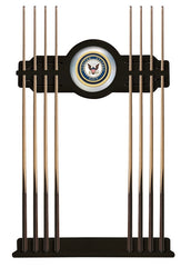 United States Navy Cue Rack with Black Finish
